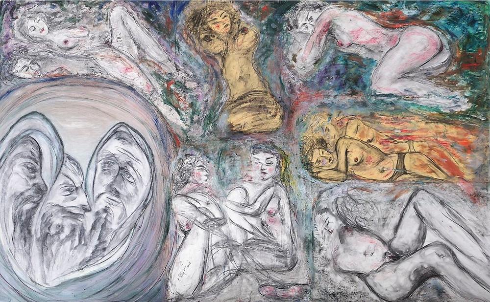 Enzo Pellegrino, illustrazione per i Canti Orfici