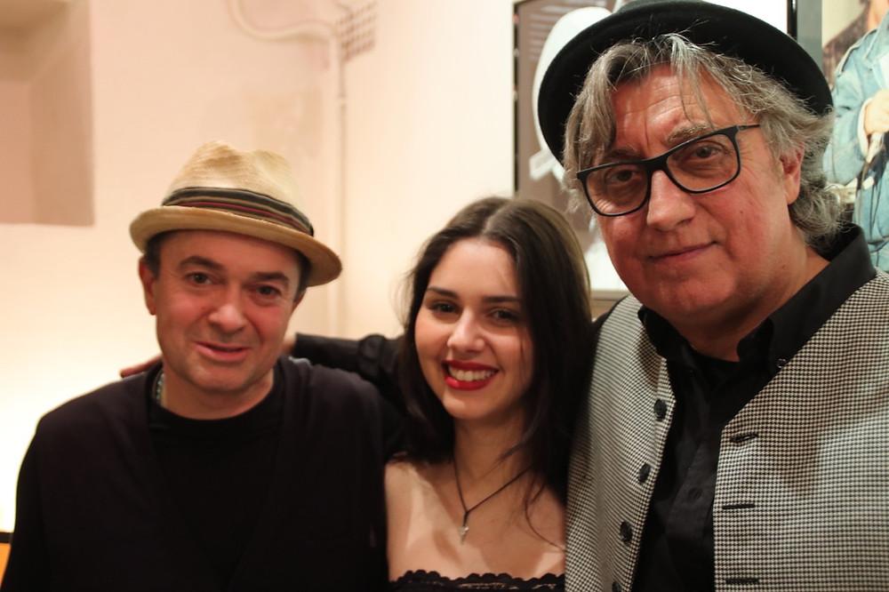 Marco Belluzzo, Chiara Bincoletto e Marcello Romeo