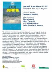 Costanza Savini - Il lago in soffitta
