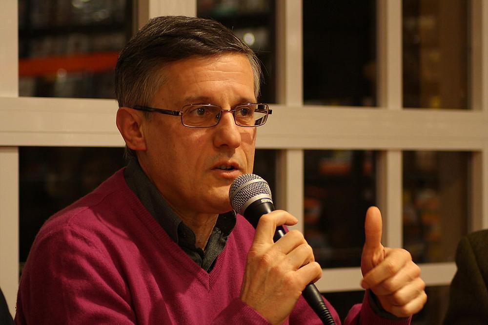 Valerio Varesi. Foto di Guido Giombi (2013)