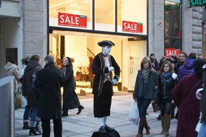 Shopping, Vienna, 2009