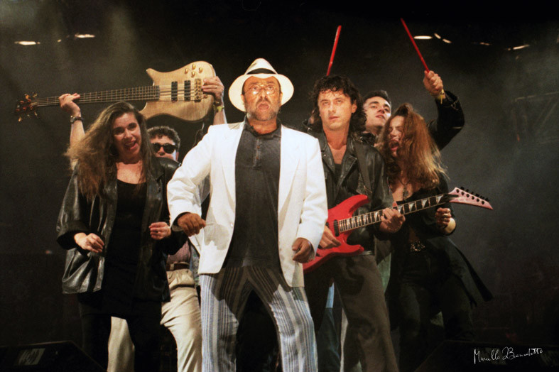 Lucio Dalla in concerto, foto Marcello Di Benedetto