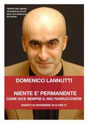 Domenico Lannutti - Niente è permanente