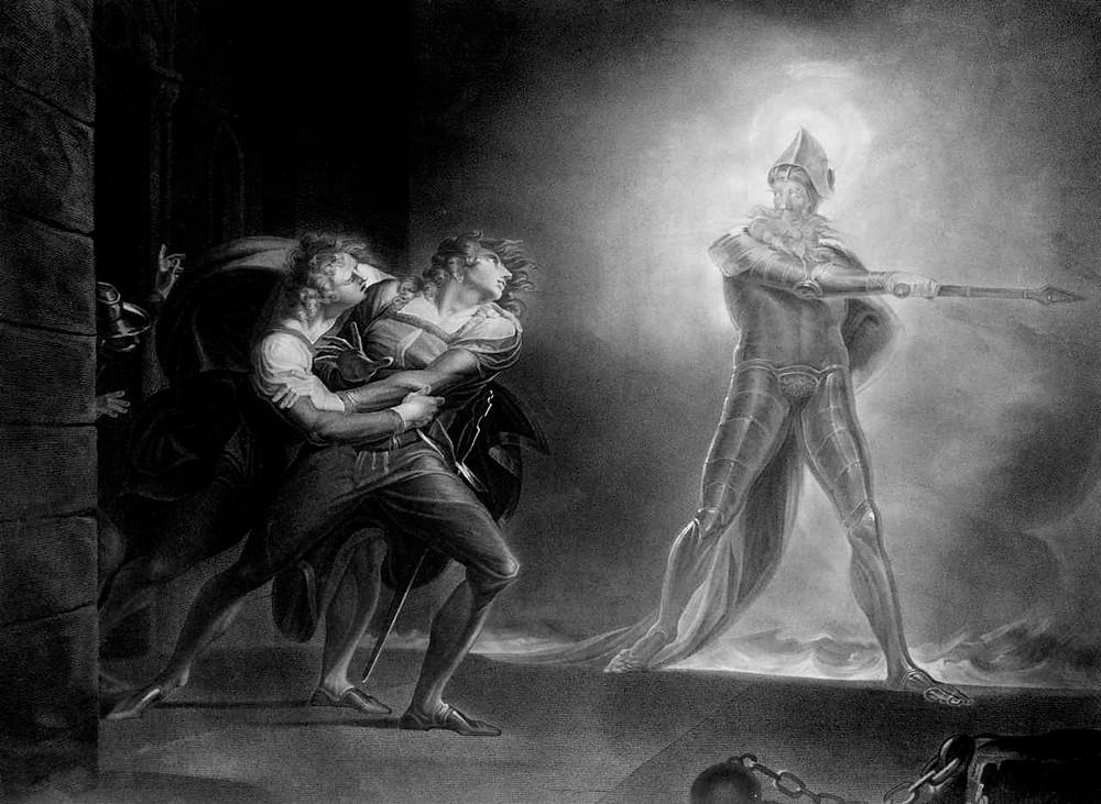 Hamlet, Prince of Demark-J.H. Fuseli