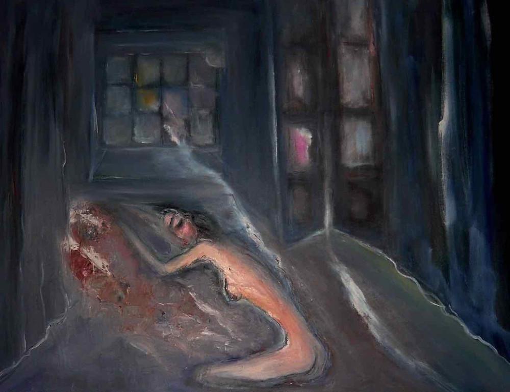 Il sogno di Penelope, un'opera di Enzo Pellegrino