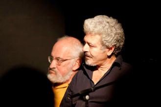 Enzo Robutti e Nino Campisi al Teatro del Navile (foto G. Orlandi, 2009) - 10