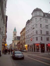 Westbahnstrasse, Vienna, 2007