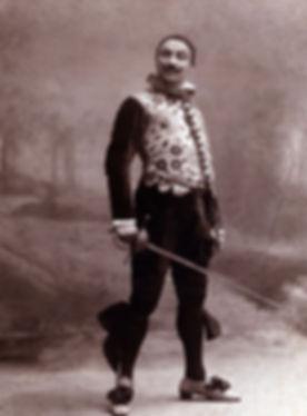 Il grande attore Ruggero Ruggeri nel 1914