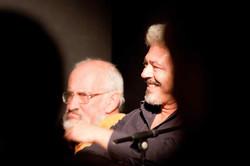 Enzo Robutti e Nino Campisi