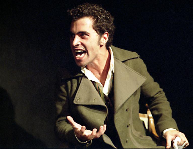 Saverio Desiderato ne L'Orso di Anton Cechov (2004)