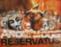 Ilze Jaunberga, Anonymous Reservatus, olio su tela, 60x50