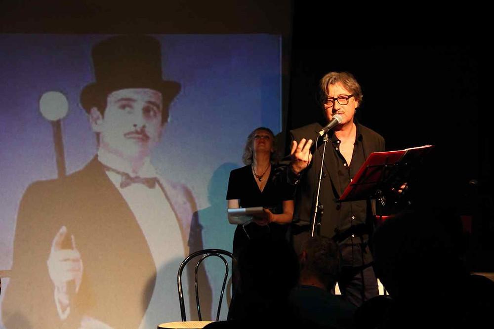 Marcello Romeo al Teatro del Navile