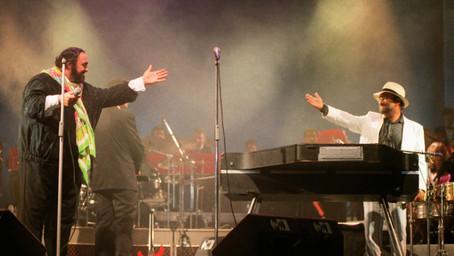 Marcello Di Benedetto - Lucio in concerto  - 12 foto inedite di Lucio Dalla
