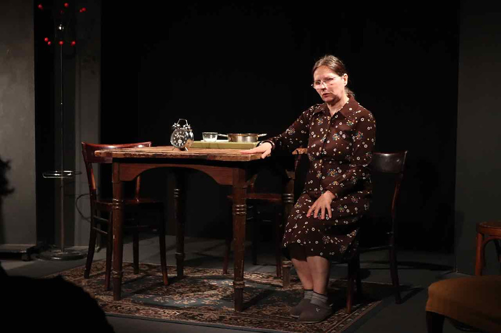 "Noella Bardolesi in ""A night out"" di Harold Pinter"