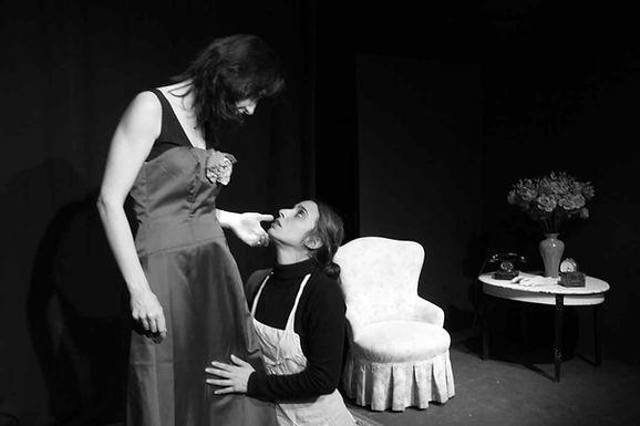 Le Serve di Jean Genet con la regia di Nino Campisi