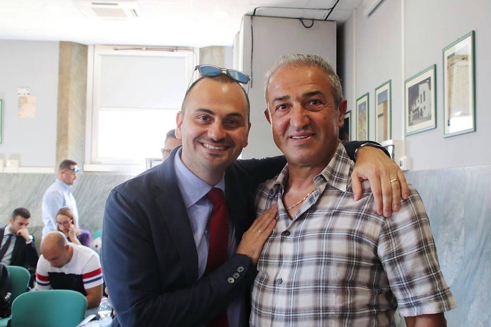 Antonio Monachetti (Libera) e Giuseppe Chiarillo al Premio Pio La Torre 2019