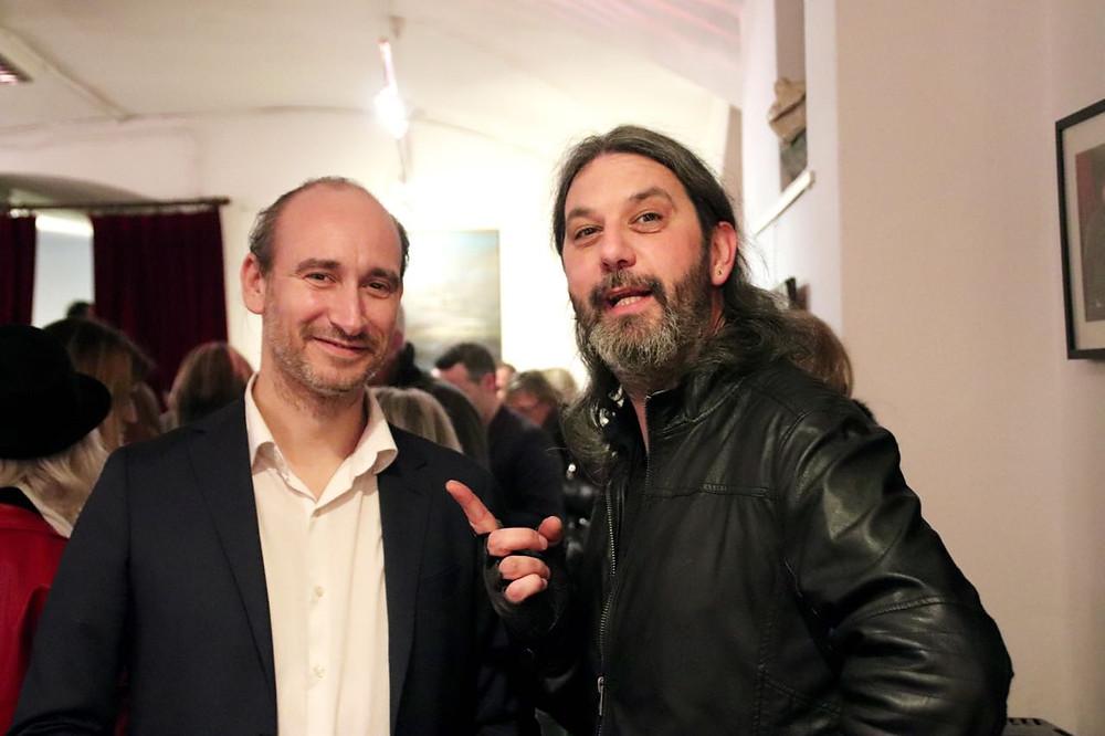 Raffaele Montanari e Luca Bonacchi al Teatro del Navile