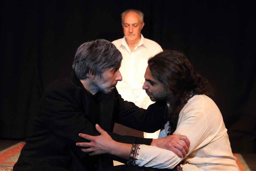 Maurizio Corrado, Fabio Garau e Francesco di Nubila nell'Antigone di Jean Anouilh