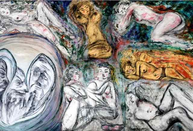 I pensieri degli altri, un'opera di Enzo Pellegrino