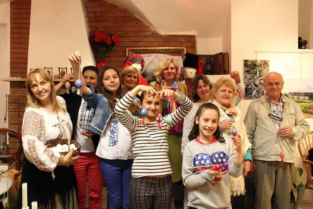 Vi presentiamo l'Ucraina. Halyna Hevko e il laboratorio Pysanka