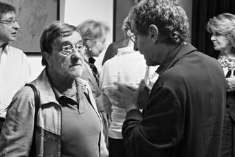 Lucio Dalla e Marco Marozzi al Teatro del Navile - 13.05.2011 - 5 (foto Teatro del Navile)