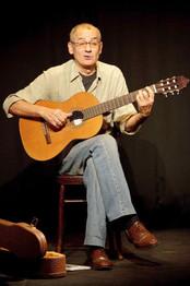 Jimmy Villotti al Teatro del Navile (foto G. Orlandi, 2009)