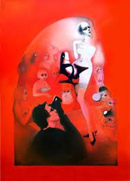 L'esibizionista, opera di Ilze Jaunberga
