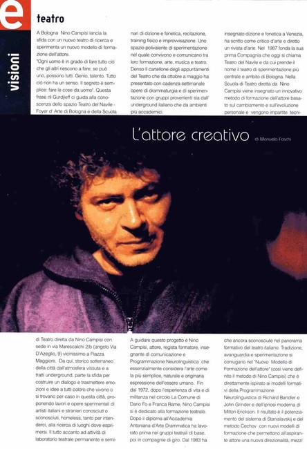 L'attore creativo