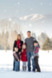 Family Portraits-Winter photos-Missoula Photographers