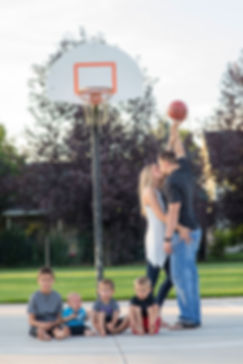 Basketball family-Missoula-photography