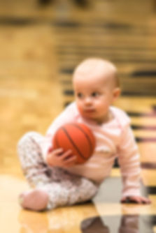 Basketball baby-Missoula photography