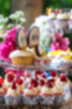 Cupcake display for wedding reception