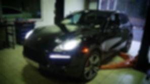 Porsche Cayenne.__Полная замена масла в