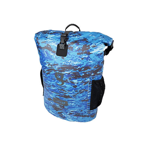 Backpack Dry Bag Cooler - Ocean geckoflage