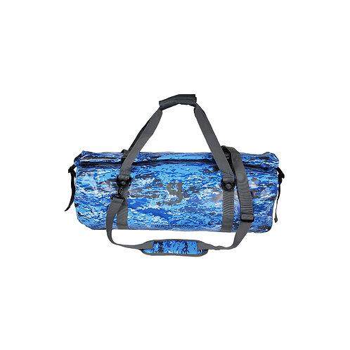 Waterproof 50L PVC Duffel - Ocean geckoflage