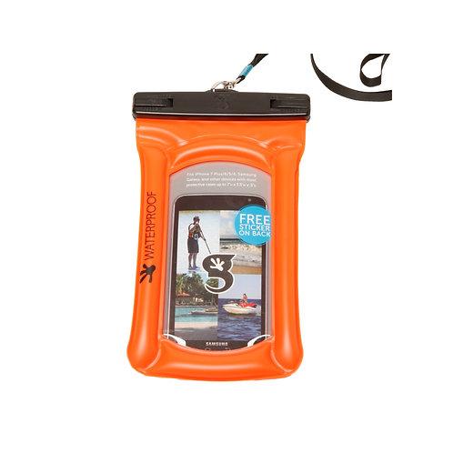 Float Phone Dry Bag - Neon Orange
