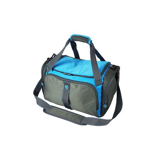 Duffel Cooler - Grey/Neon Blue