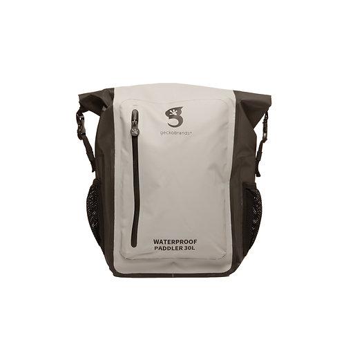 Paddler 30L Waterproof Backpack - Grey