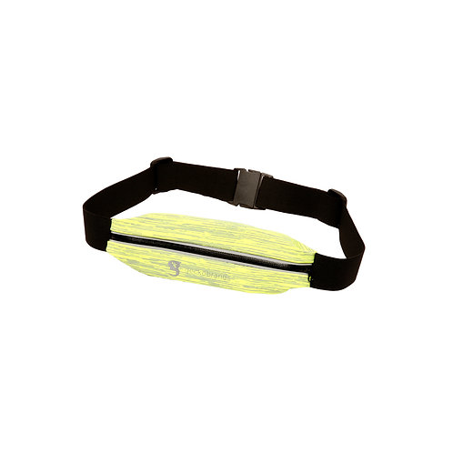 Track Waist Pack - Neon Green/Grey