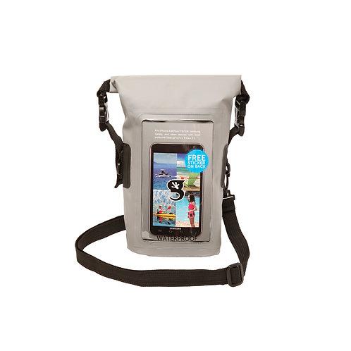 Waterproof Phone Tote - Grey