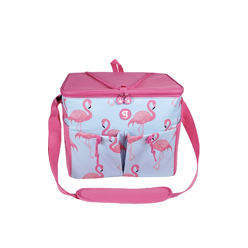 Large 15 Bottle / 24 Can Cooler - Flamingo