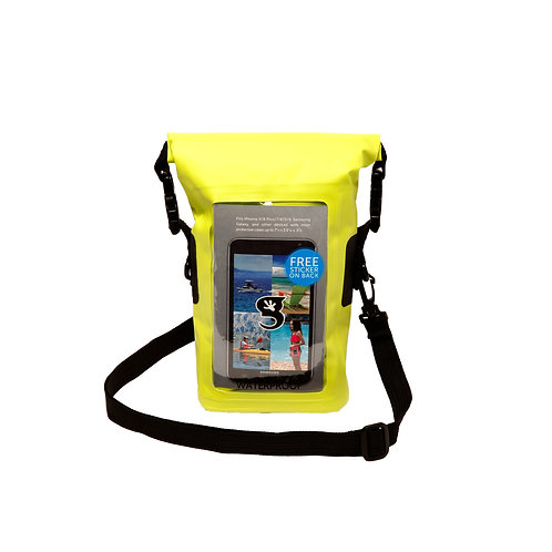 Waterproof Phone Tote - Neon Green