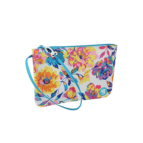 Swim / Small Utility Bag - Watercolor Floral