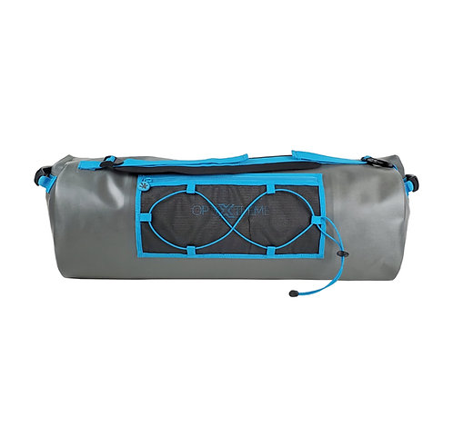 Optixtreme Waterproof Duffel - Grey/Neon Blue