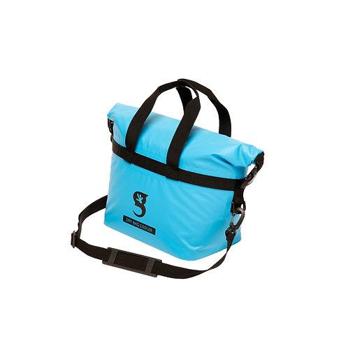 Tote Dry Bag Cooler - Neon Blue