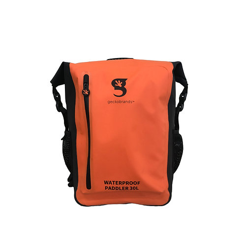 Paddler 30L Waterproof Backpack - Orange