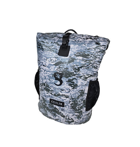 Backpack Dry Bag Cooler - Artic geckoflage