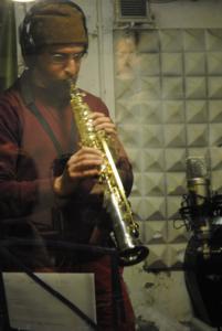 Chris Egan sax