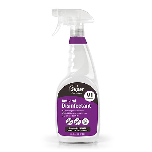 NEW – V1 Antiviral Disinfectant (750ml)