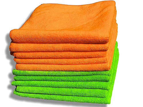 Pack 10 Washable cleaning cloths